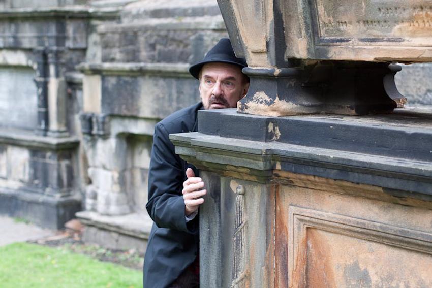David Crawford as H.P. Lovecraft